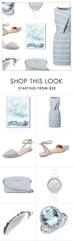 """""""easy"""" by cilita-d ❤ liked on Polyvore featuring West Elm, Best Society, MICHAEL Michael Kors, Skagen, NARS Cosmetics and Blue Nile"""