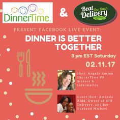 Join us! For our first ever Facebook Live event. Follow us at www.facebook.com/beattherushdelivery  Feel free to engage us live with any questions you may have! Live Events, Better Together, Health And Wellness, Boss, Delivery, Facebook, Education, Dinner, Feelings