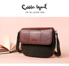 COBBLER LEGEND Modern Vintage Crossbody Bag #modern #vintage #bags Womens Messenger Bag, Vintage Bags, Cobbler, Timeless Fashion, Shops, Crossbody Bag, Community, Lifestyle, Modern