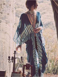 Free People Spellbound Tie Dye Kimono, $58.00