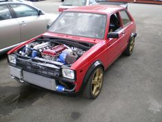 toyota starlet kp61 + nissan s20det engine conversion