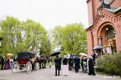 No expenses were spared for this elegant fairytale Tampere Wedding in Finland. From the custom-made tuxedo and horse-drawn carriage to the decadent cakes. European Wedding, Decadent Cakes, Horse Drawn, Finland, Fairy Tales, Street View, Horses, Weddings, Inspired