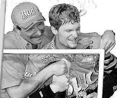 Dale Earnhardt Sr and Jr