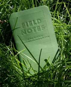Field Notes [grass-stain green]