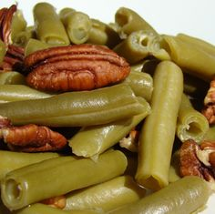 Green Beans with Brown Butter and Pecans