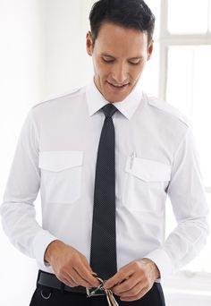 košile pilotka, kravata, kalhoty Coat, Jackets, Fashion, Down Jackets, Moda, Sewing Coat, Fashion Styles, Coats, Jacket