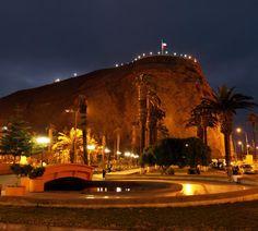 El Morro de Arica Chile
