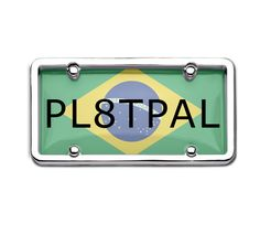 Brazil Number Plates are work as a tool to identify your vehicle in the crowd.  They are waterproof, available in different sizes and metals.