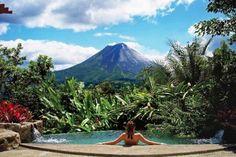 6 hospedagens próximas a vulcões pelo mundo