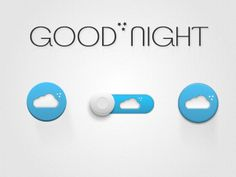Night_icons Ui Design, Good Night, Ios, Concept, Button, Detail, Digital, Projects, Inspiration