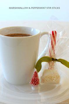 Marshmallow & Peppermint Stir Sticks via homework (4)