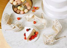 Morning Ladies! #fashionfave #fashion #morning #ladies #shoes #cake