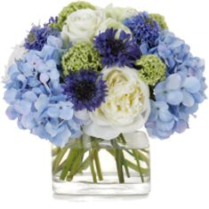 A vase of peonies, hydrangeas and anemonies would be so nice on my desk tomorrow