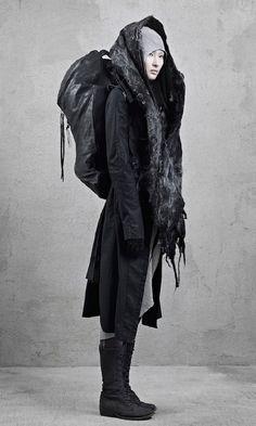 Futuristic Look / Dystopian Fashion, Dark Fashion