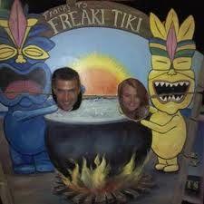 Freaki Tiki photo op