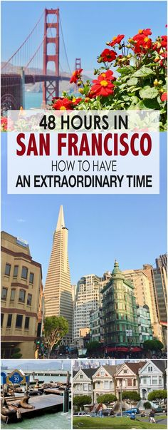 Great tips for having a fantastic time in San Francisco and getting the most out of a short visit. AD