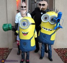 DIY Despicable Me Family Costume