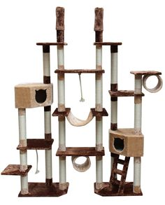 One of Our Largest Cat Tree Furniture for Cattery Use from kittymansions.com