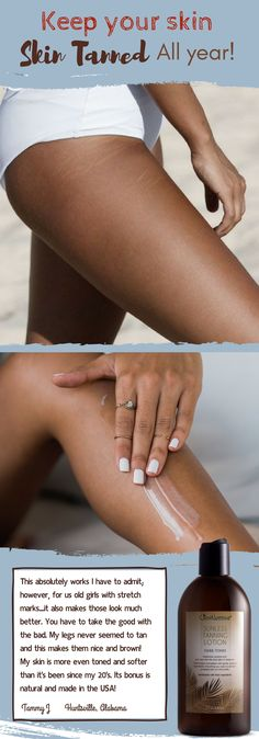 Just Nutritive ProductsKeep your skin tanned all year! Beauty Care, Beauty Skin, Health And Beauty, Beauty Hacks, Hair Beauty, Beauty Tips, Dreads, Tan Skin, Stretch Marks