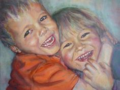 Friends, portret painting Lida Meines Draw, Illustration, Pencil, Faces, Paintings, Paint, Illustrations, Painting Art, Face