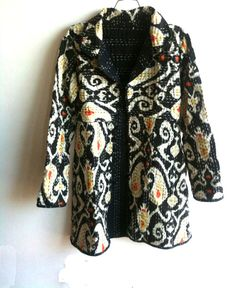 SALE Kantha Jacket/ coat. Handmade. Size M and L before by Bachick, $120.00