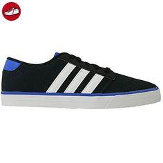 adidas NEO Sneaker, Groesse 8,5, schwarz/blau (*Partner-