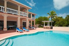 LOVE!  The pool at Emerald Shores Estate on Chalk Sound Providenciales, Turks & Caicos
