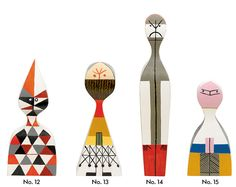 Wooden Dolls Alexander Girard, 1963