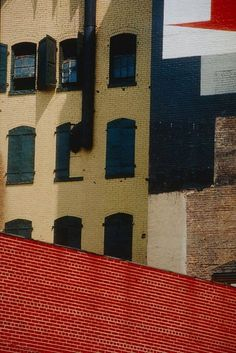 New York / Franco Fontana / 1979 / dye transfer photograph