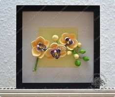 Slika mural crtež Rođendan Slikarstvo Orhideje Papir nabran porub bend slika 1