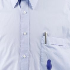 Home Remedies for Cleaning Ink Stains-Ink stains are some of the most difficult to remove. To treat this dreaded discoloration, consider the usefulness of home remedies for ink stains Ink Out Of Clothes, Ink Stain Removal, Laundry Hacks, Laundry Rooms, Clothing Hacks, Diy Fashion, Cool Outfits, How To Remove, Shirt Dress