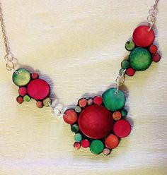 Hey, I found this really awesome Etsy listing at https://www.etsy.com/listing/213234084/polymer-clay-necklace-unique-garden
