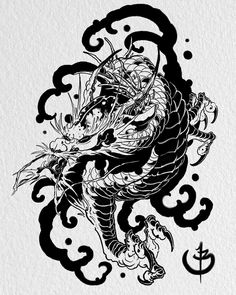 Water lizard up fo grabs @stevestontattoocompany available in black or glorious colour #japanese_dragons #dragon #ryu #japanese #japanesetattoo #neojapanese #tattoo #tattoos #ink #digital #digitalartist #digitalart #asian #asian_inkandart #irezumi #irezumicollective #asian_inkspiration #thebesttattooartists #art #artist #instaart #artofinstagram #thebesttattooartistsjpn #japanesetattooart #tattoo_art_worldwide #ipad #ipadpro #ipadprotattooteam #tattoosnob #tattoodo @tattoosmart