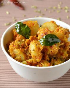 Spicy Sweet Potato Curry | ticklingpalates.com #sweetpotatorecipe #vegan #vegetarian