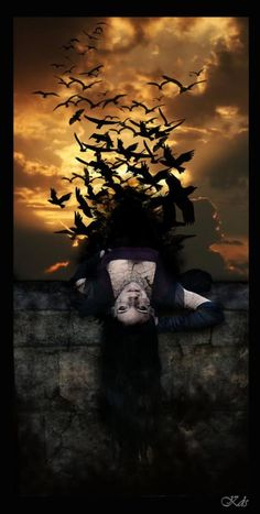 Raven Woman... flying free. #pagan #wicca
