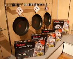 """Tefal Masterchef Range- """"Tefal Masterchef has been thought of and designed by Tefal to inspire you to create and enjoy food. A complete assortment of premium stainless steel products to enhance your cooking"""" Kitchenware, Retail, Range, Stainless Steel, Inspire, Create, Cooking, Inspiration, Food"""