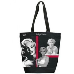 Marilyn Monroe tote bag, made by Quo Vadis.