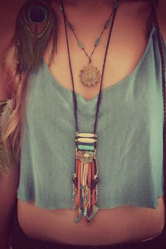 RESERVED /// ROOTS Leather Fringe Bohemian Tribal One by luxdivine