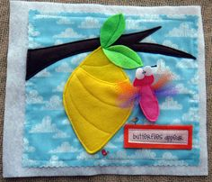 Tiny Miracles Quiet BOOK .PDF pattern for EASTER por LindyJDesign