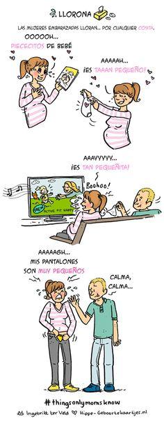 12 Divertidas tiras cómicas sobre la vida de una joven madre