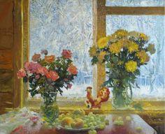 Валентин Степанович Терещенко  Зима за окном