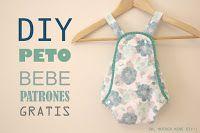 DIY, patrones, ropa de bebe y mucho más para coser.: BEBÉ Y NIÑOS