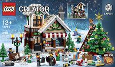 Seasonal LEGO Creator w/ Christmas Tree Set Expert Winter Toy Shop Holiday 10249 Lego Winter Toy Shop, Lego Winter Village, Lego Christmas Village, Lego Creator, The Creator, Christmas Settings, Christmas Holidays, Christmas Tree, Winter Holiday