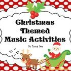 Have fun with these Christmas Themed Music Activity Sheets which include musical math, dynamics terms, time signatures and more. Watch out for the ...
