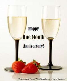 1 Month Wedding Anniversary Gifts : 1000+ ideas about Happy One Month Anniversary on Pinterest One Month ...