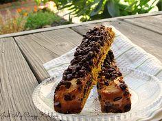 Pumpkin Chocolate Chip Biscotti