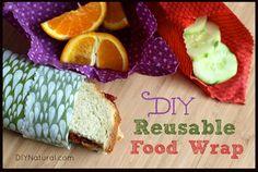 How to Make Reusable Food Wrap