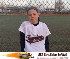 """Kaydee Bennett or """"Nickel"""" as she is known to her Texas Travelers teammates and """"Superman"""" to her coaches is in 5th grade and attends Sunnyvale Middle School. She plays Shortstop, Outfield and is a Utility player for the Travelers. She began playing softball at 6 years old and at 7 started playing 10U softball. Her favorite high school player is Darrianne Hale of Bishop Lynch who is committed to University of Incarnate Word."""