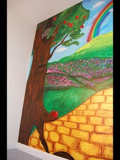 Wizard Of Oz Themed Mural By Caras Creations For A Childu0027s Nursery. Look At  The Part 68
