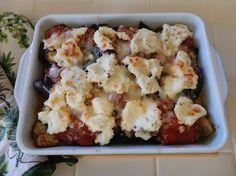 Eggface Healthy Italian Dinner Recipes: Roasted Eggplant Baked Ricotta